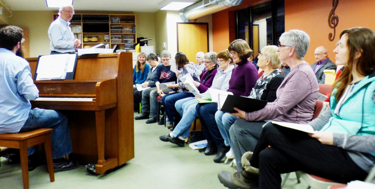 Crow River Singers rehearsal