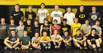Wrestling team photo 2019