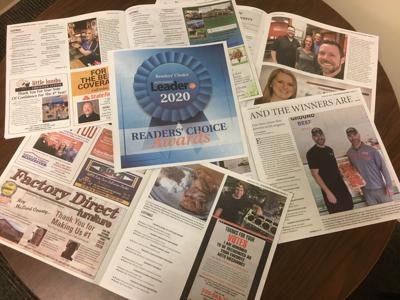 2020 Readers' Choice spread