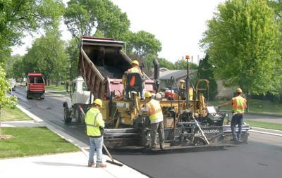 Street rebuilt regularly
