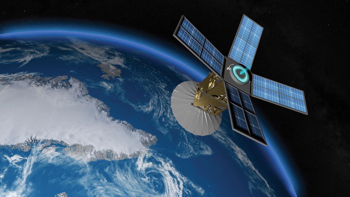 3d,Rendering,Satellite,Observing,Earth