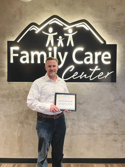 Family Care Center, mental health awareness award