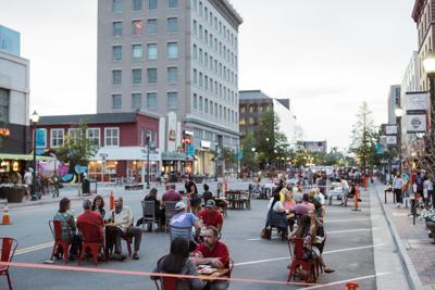 Tejon Street Dine Out Downtown