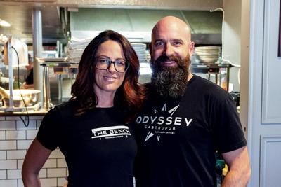 Jenny and Tyler Sherman relied on $5,000 micro-investments from friends to kickstart their small downtown dining empire.