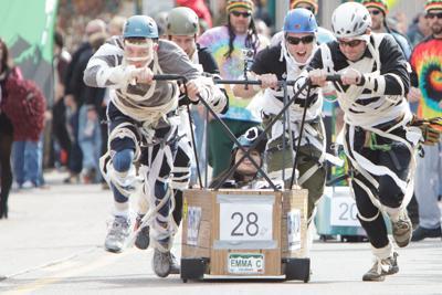 Coffin Race