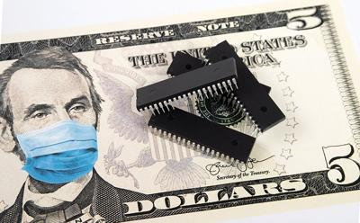 Microchips,Shortage,In,The,United,States,Because,Of,Covid-19,Pandemic.