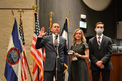 Michael Allen oath of office