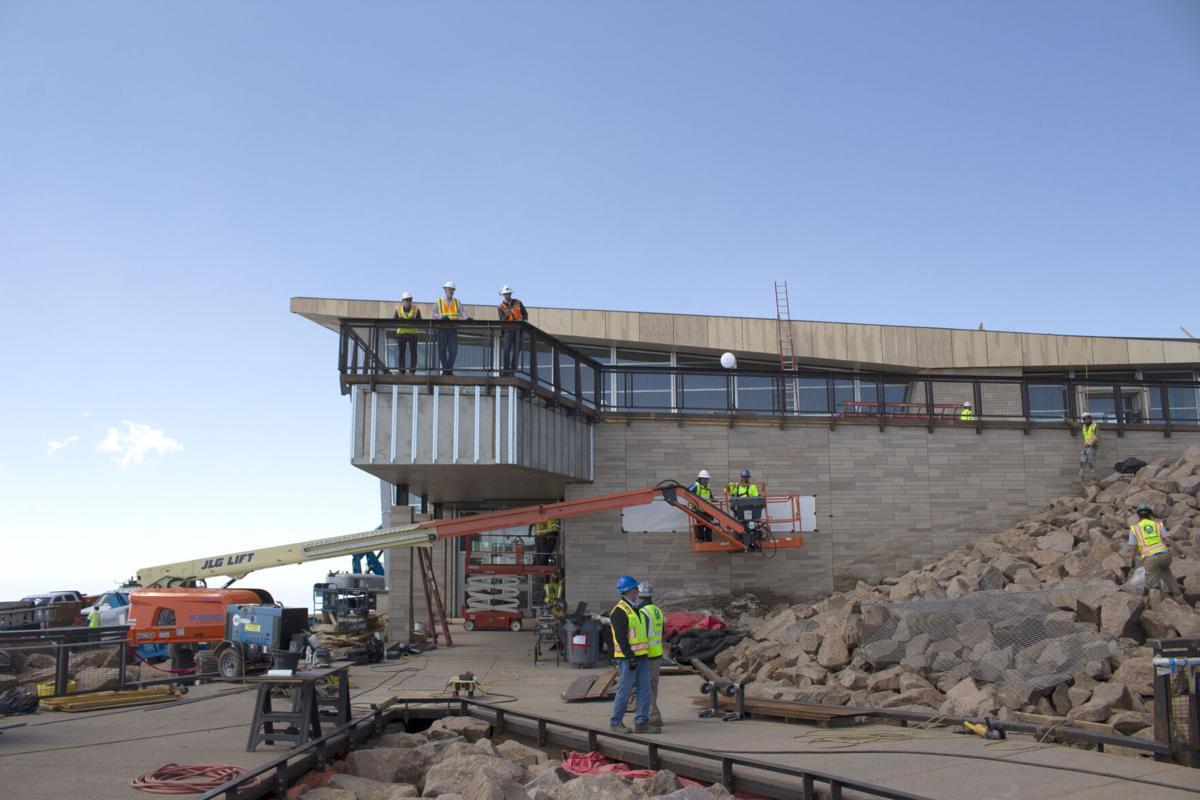Pikes Peak Summit Visitors Center