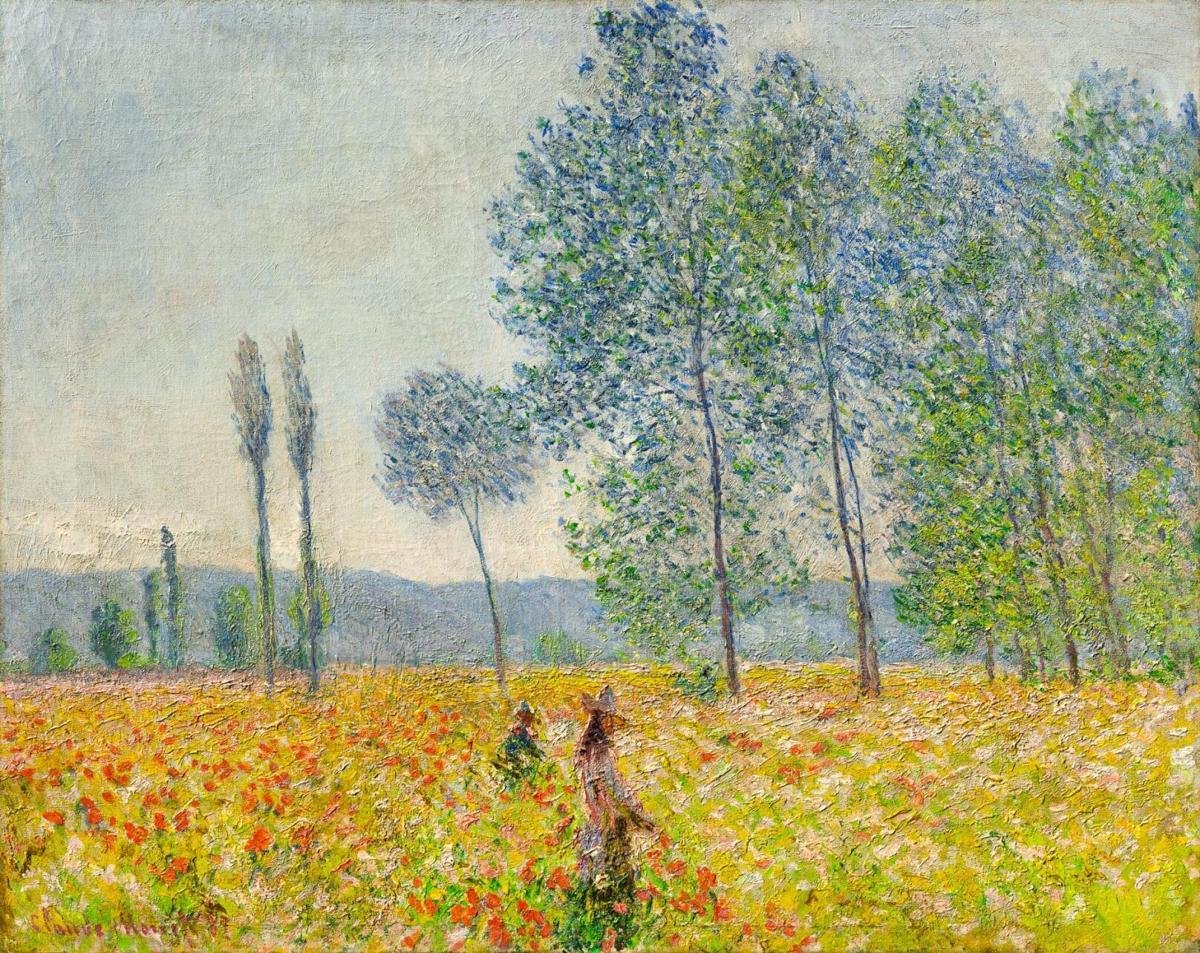 1011-Monet,-Under-the-Poplars,-1887_DenverArtMuseumCC