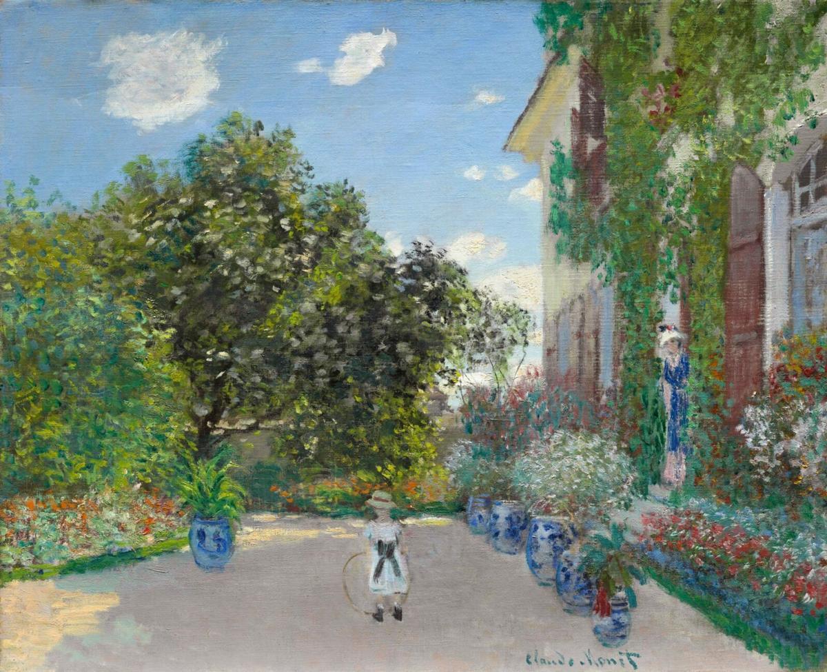 1011-Monet,-The-Artist's-House-at-Argenteuil,-1873_DenverArtMuseumCC