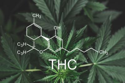 Thc,Formula,,Tetrahydrocannabinol,.,Medical,Marijuana,,Cannabinoids,And,Health,,Hemp