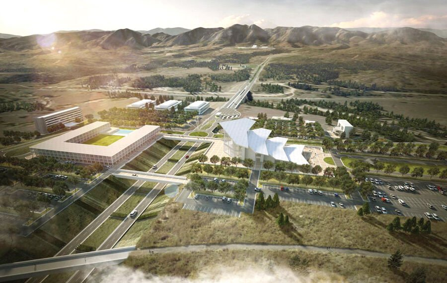 Air Force Academy Visitor Center complex