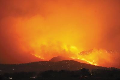 fire, wildfire, danger, burning
