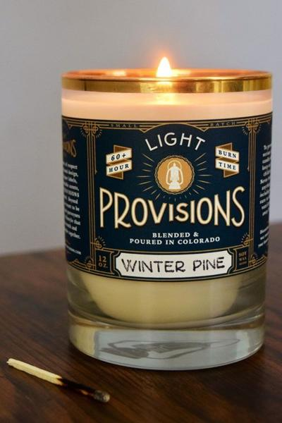Light Provisions founder Brett Owens goes from housatosis to candle business
