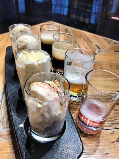 Badass beer ice creams at Beasts & Brews