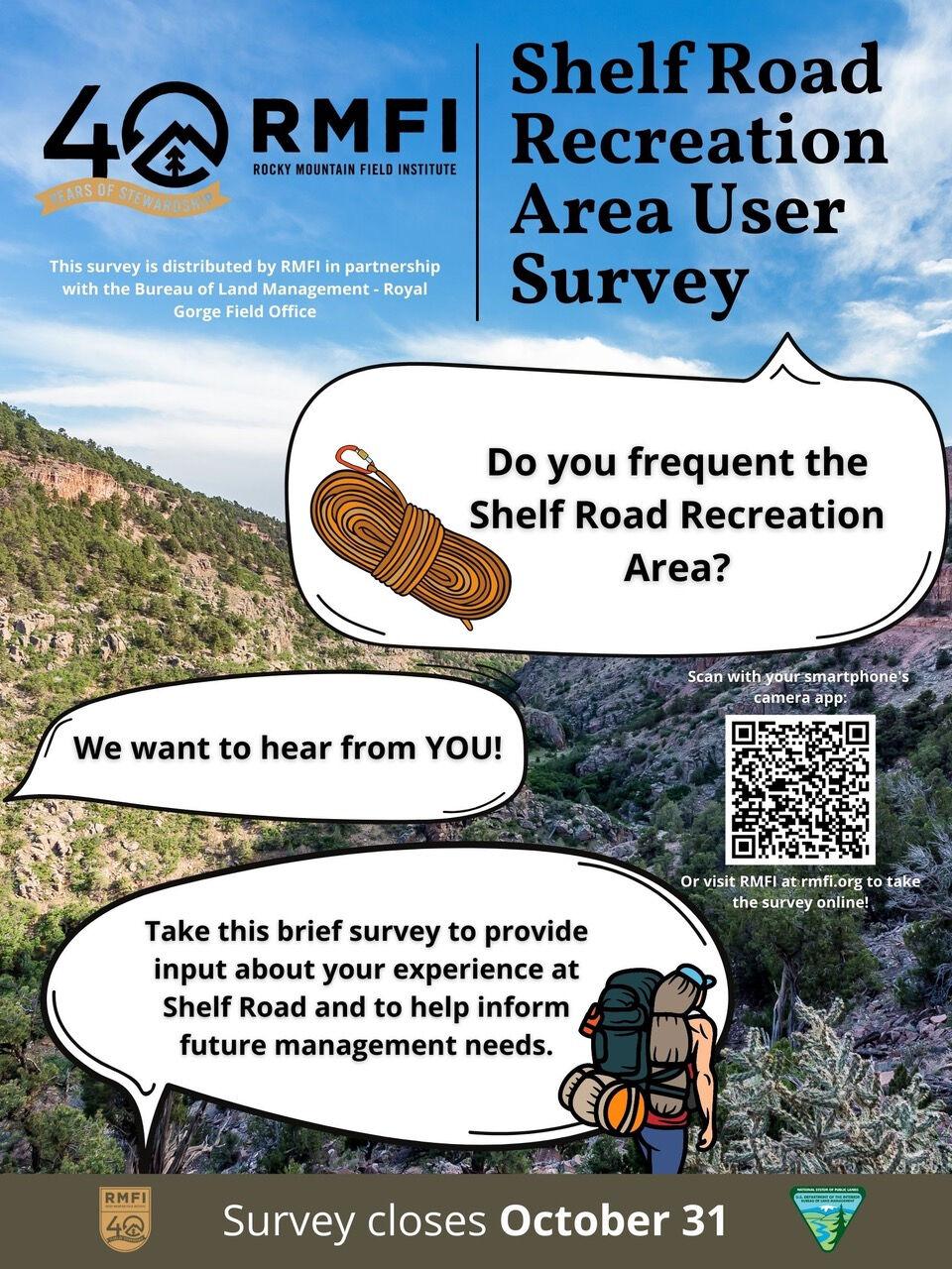 Shelf Road Survey