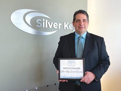 SilverKey mental health awareness award