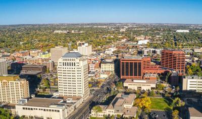 Downtown, Colorado Springs, Office, City, Springs