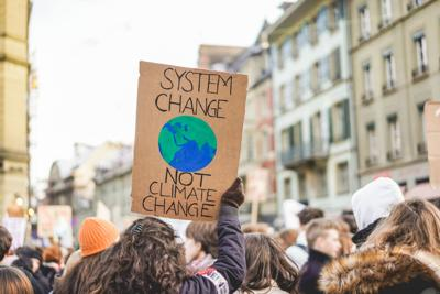 Group,Of,Demonstrators,Fight,For,Climate,Change,-,Global,Warming