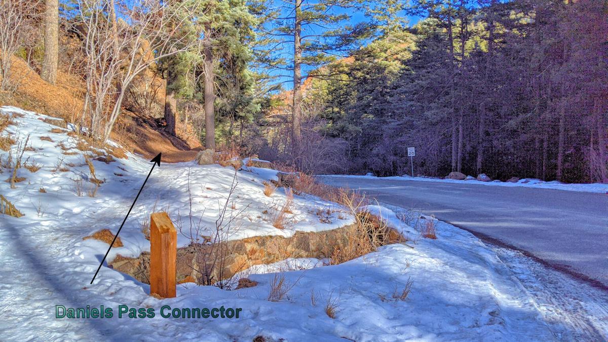 Daniels Pass Connector Trail
