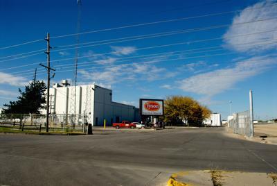 Emporia,,Kansas,,Usa,,October,12,,2013,Tyson's,Meat,Processing,Plant