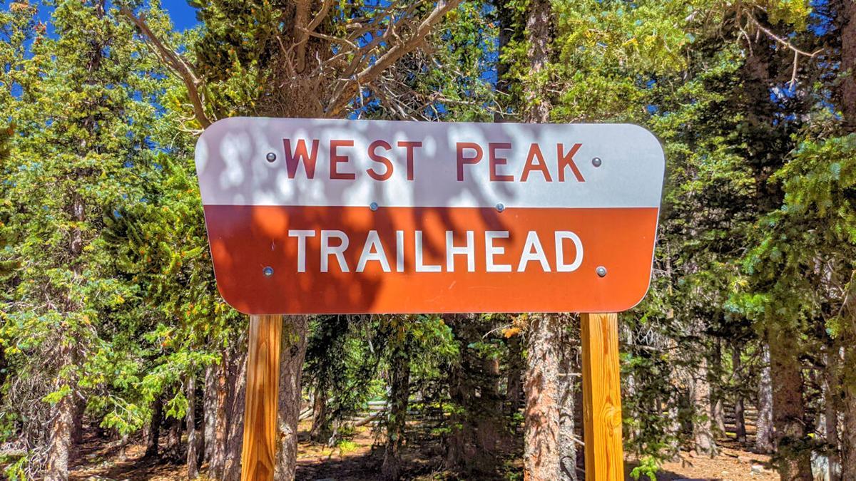 WestPeak Trailhead sign