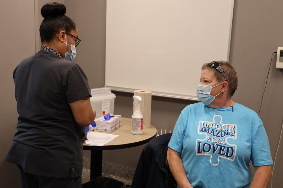 Peak Vista vaccinates 200 local homeless people | News | csindy.com