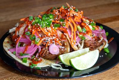 Asian Persuasion Tacos
