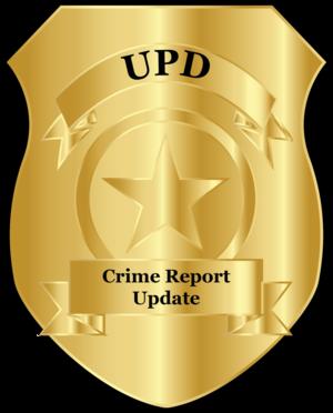 Crime Report Update
