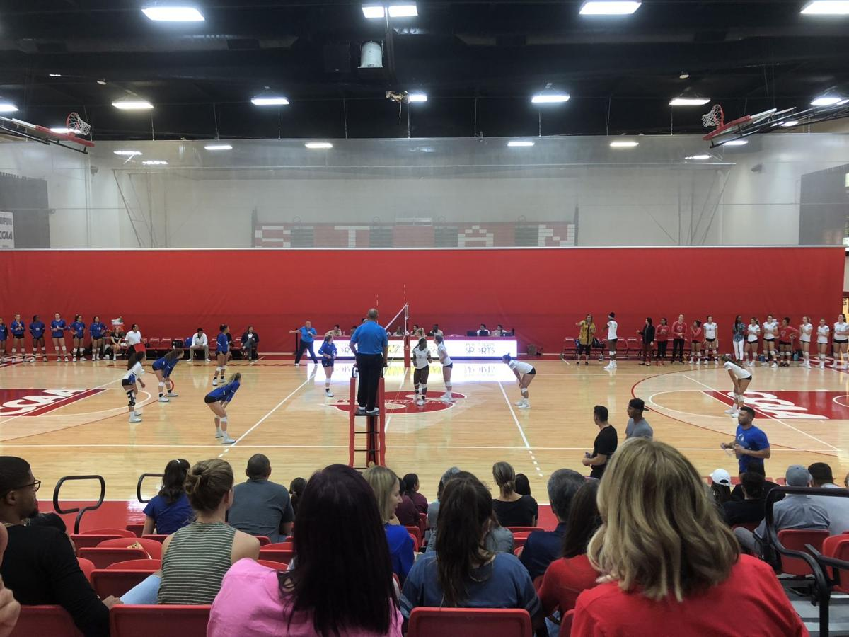 Stan State Volleyball Game