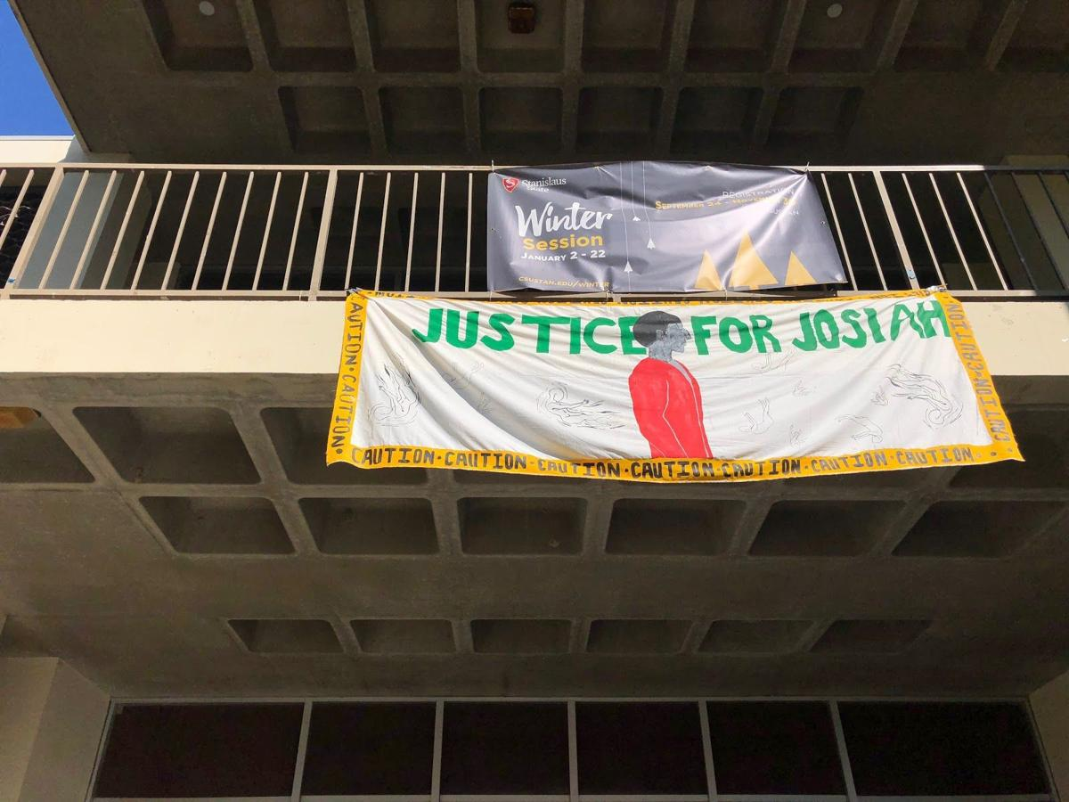 Justice for Josiah banner