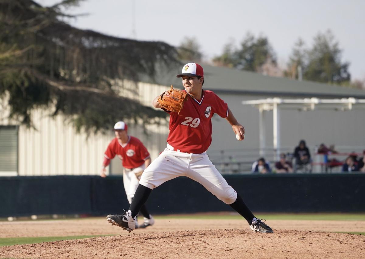 Freshman pitcher Bobby Garcia
