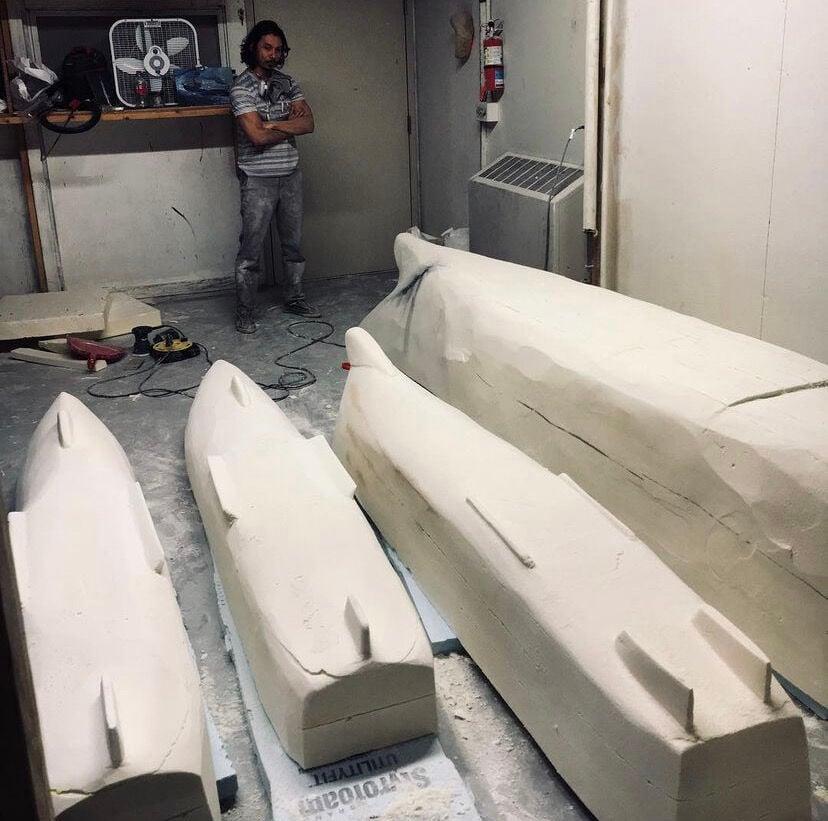 "Jose DeVera Constructing ""Fleet"""
