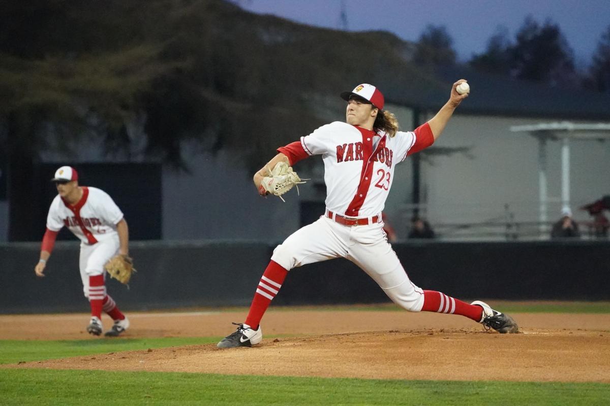 Sophomore pitcher Rylan Tinsley