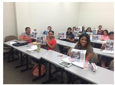 los estudiantes de SPAN 3400