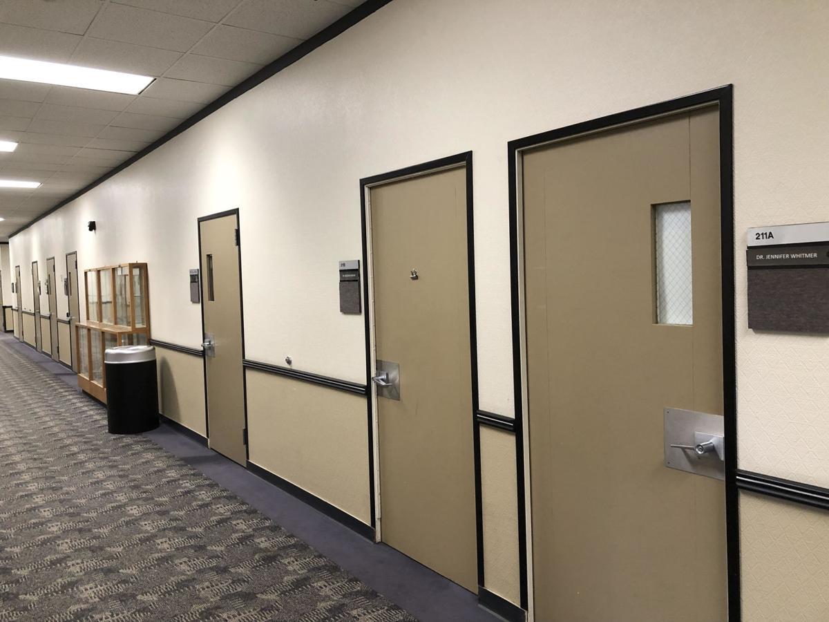 Bizzini Hall Doors (Photo Courtesy of Dr. Ann Strahm)