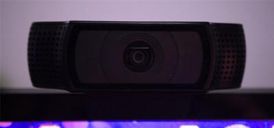 Looking into the Webcam