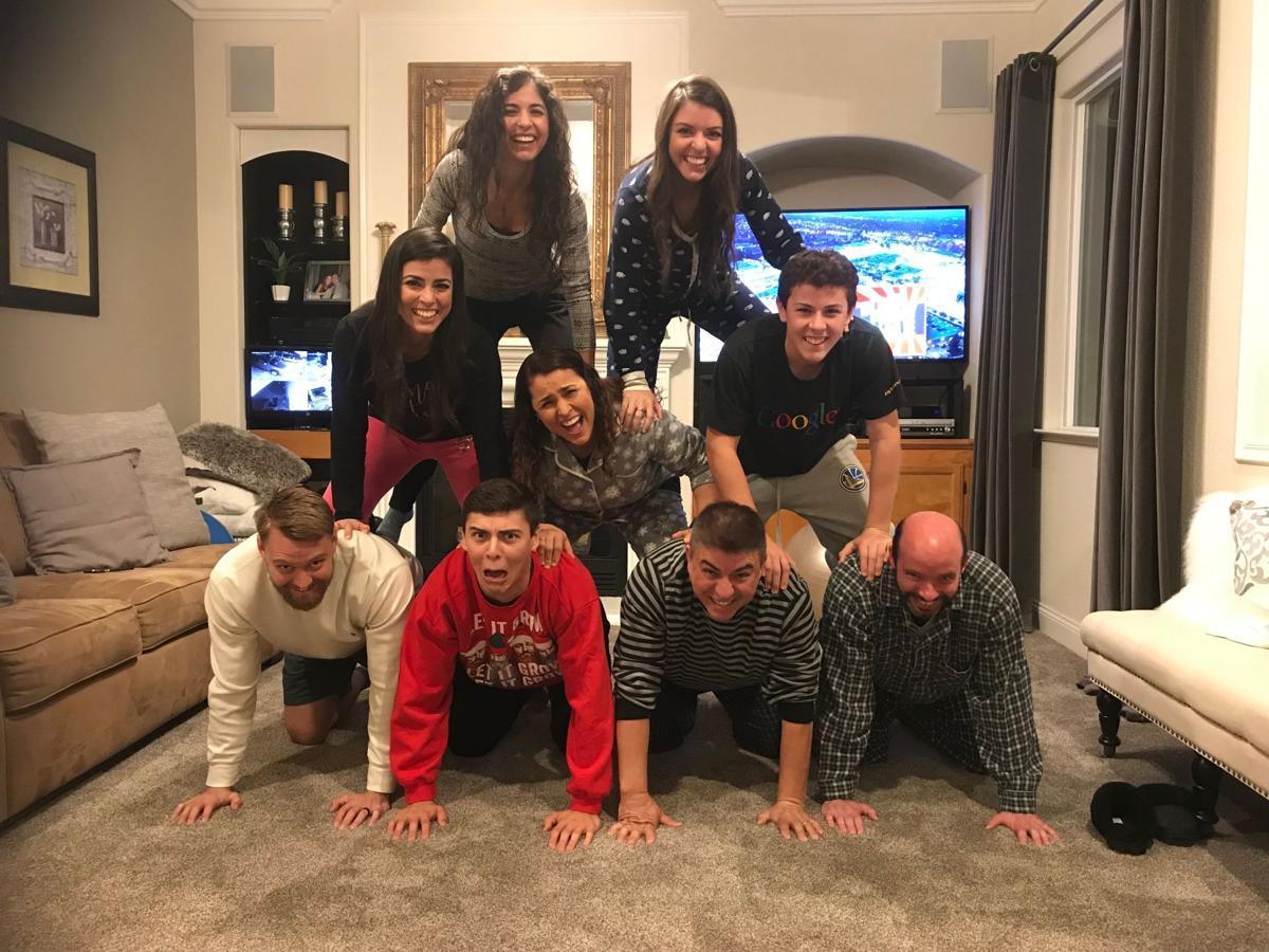 Carlos Campos and family