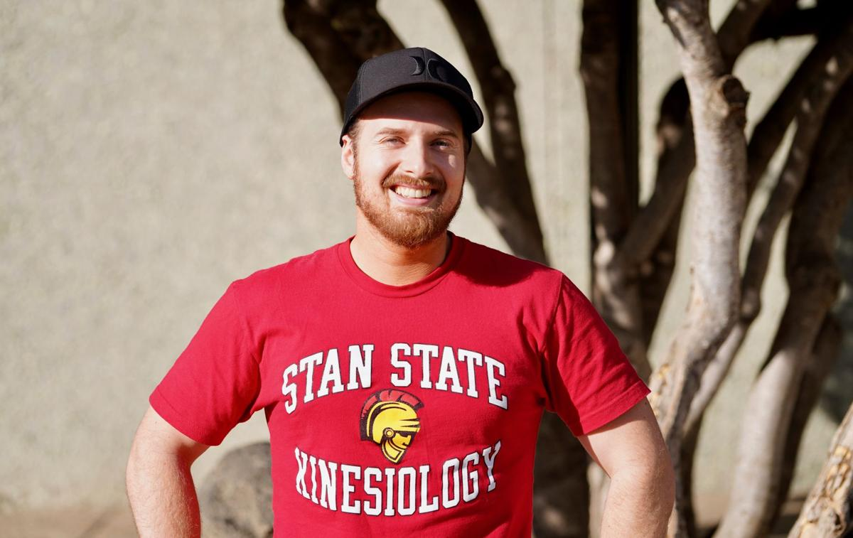 Stan State Kinesiology student Sean Fjellström