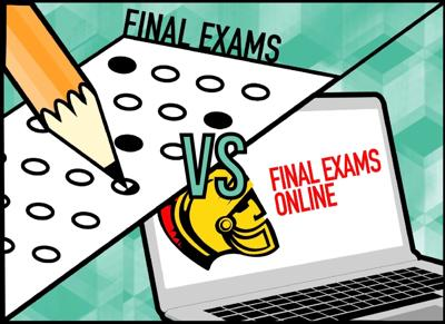 Final Exams vs. In person
