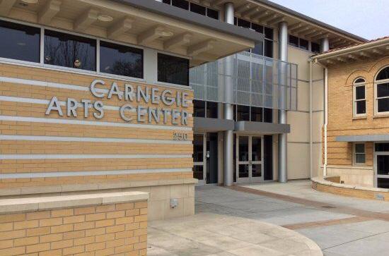 Carnegie Arts Entrance