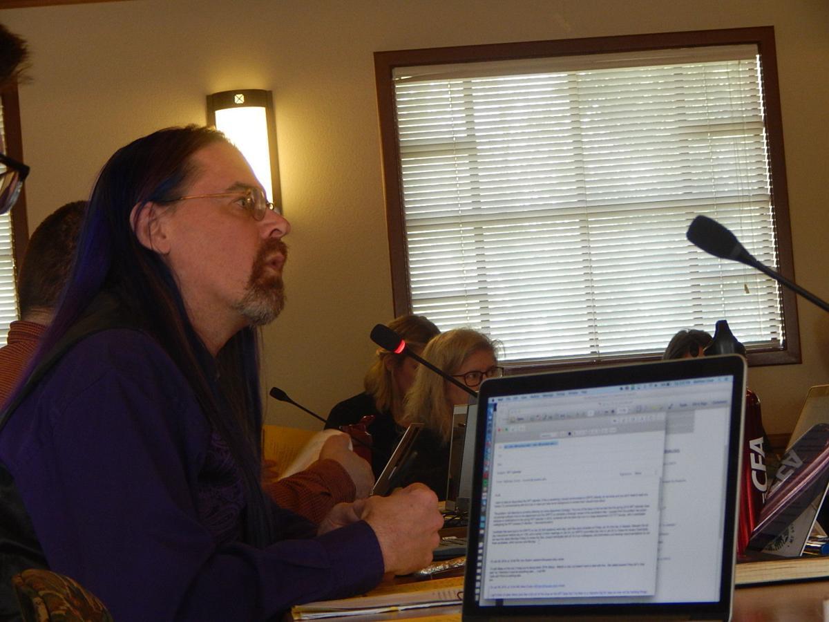 Speaker of the Faculty Dr. Chris Nagel