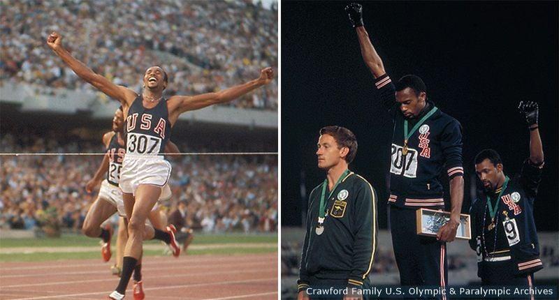 Smith at the Olympics