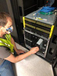 Installation of the Data Center