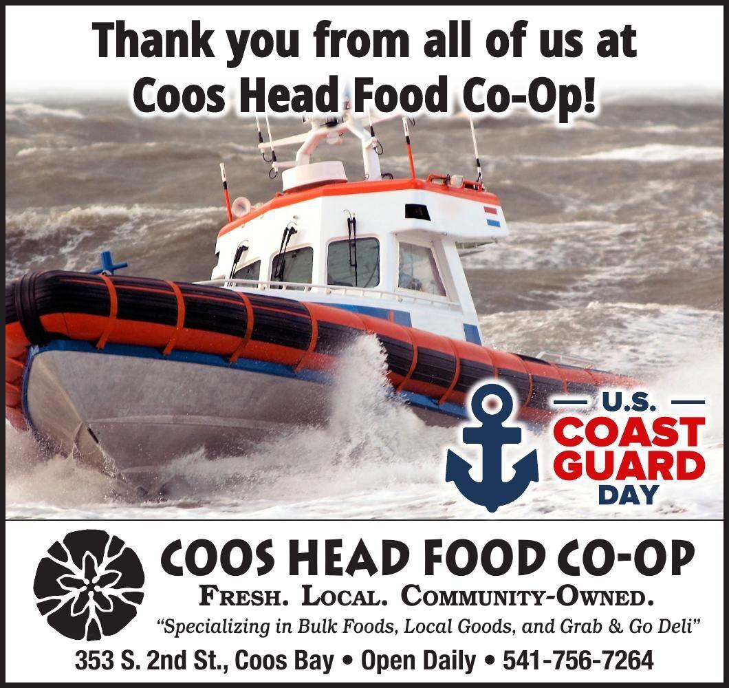 Coos Head Food