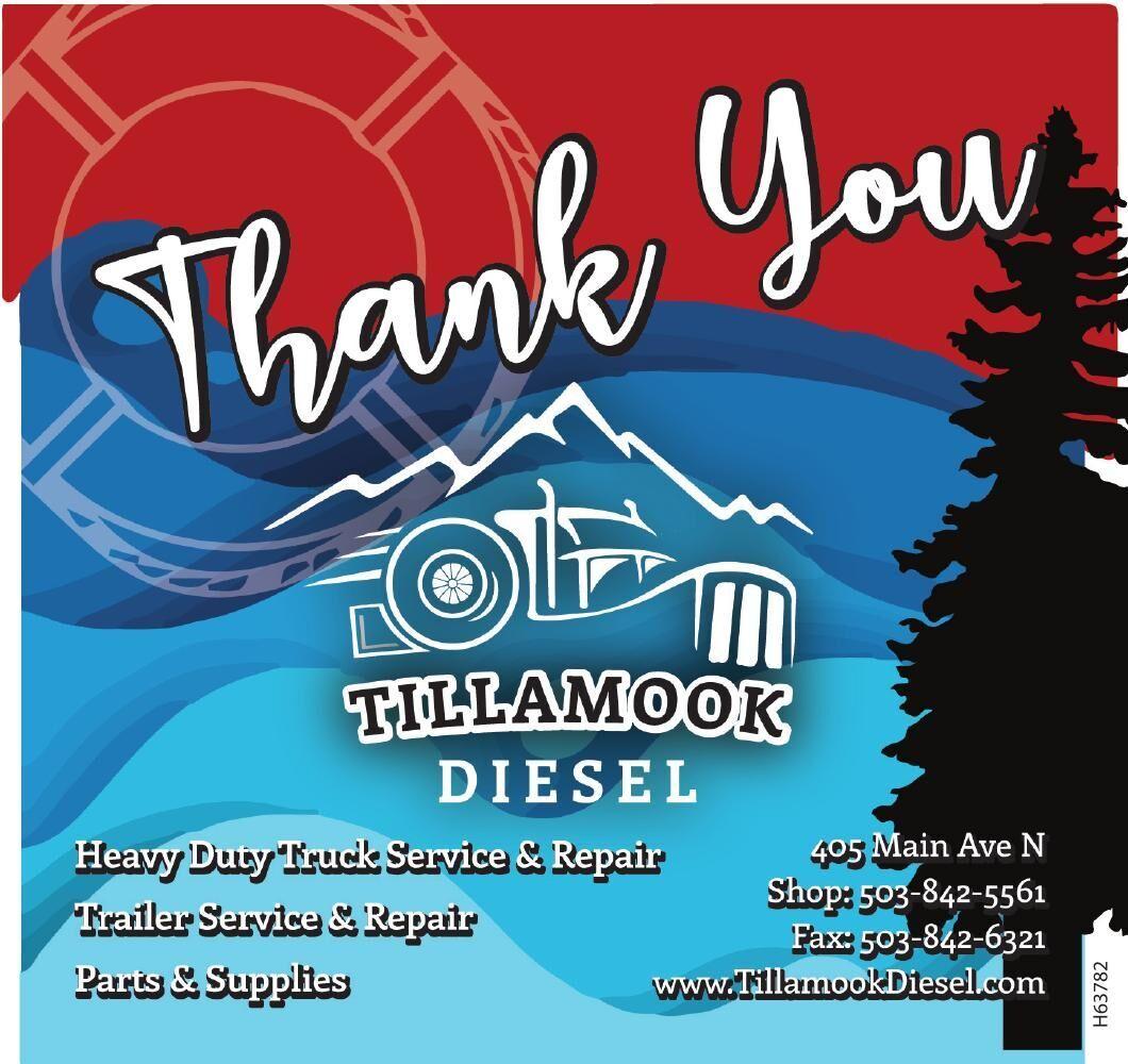 Tillamook Diesel Coast Guard 2021