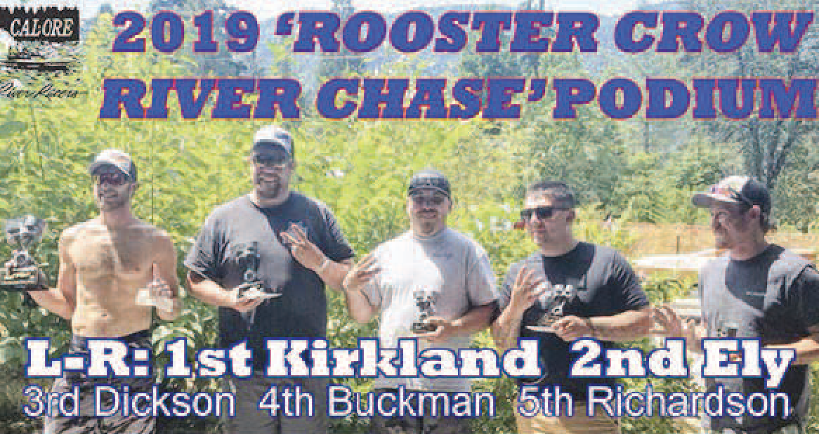 2017 winner of Rogue River Rooster Crow River Chase race back on top