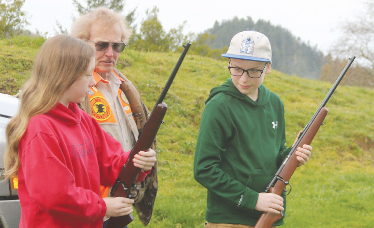 Hunter Safety is a hands-on learning opportunity