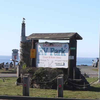 Beachfront RV