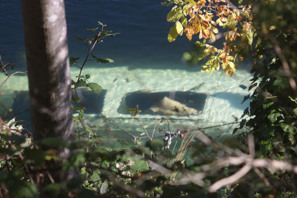 Submerged Van